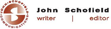 John Schofield Writer | Editor